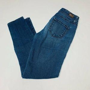 Paige Jeans Womens Size 25 Peg Skinny Denim Cotton